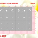 BL4304 Klebeschablonen 4