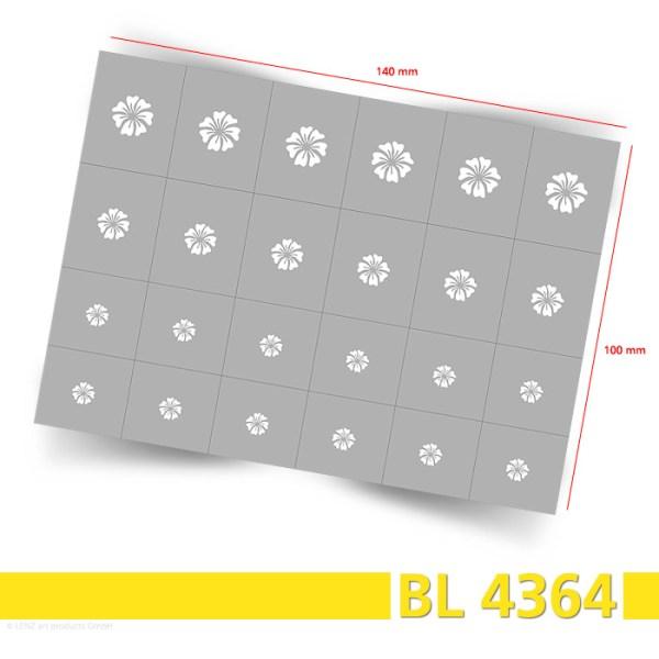 BL4364 Klebeschablonen