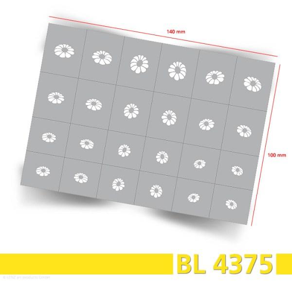 BL4375 Klebeschablonen