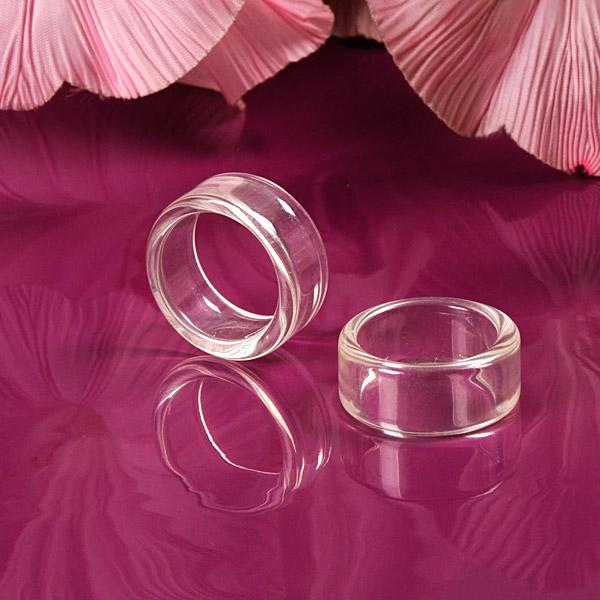 Basic-Ringe, transparent