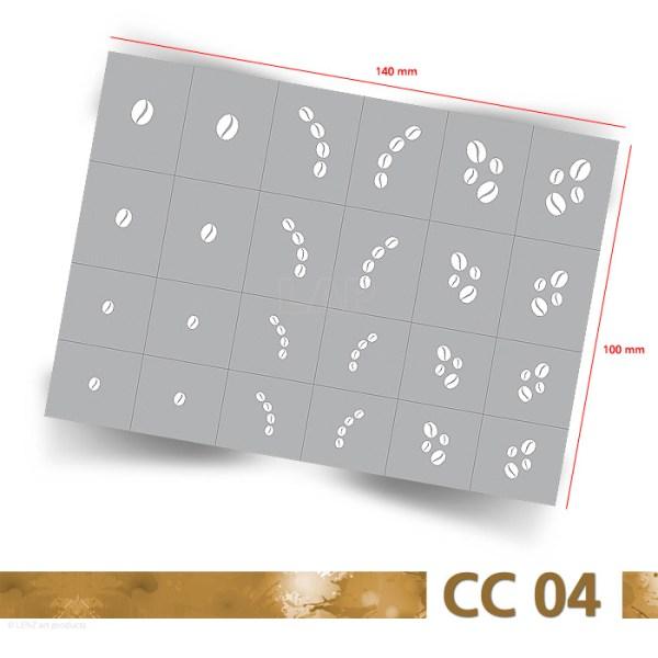 CC04 Klebeschablonen