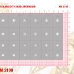 Nailart Airbrush Klebeschablone XM2100_mmp