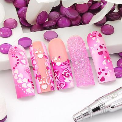 Nailart Airbrush Schablonen, Klebeschablonen, Love, Herzchen und Valentinstag, Creative-Sets
