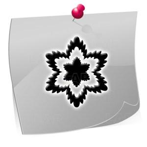 Klebeschablone Outline OTL5003, Nailart Airbrush