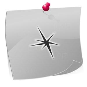 24 Mini Nailart Airbrush Klebeschablonen Sterne ST7509, selbstklebend, Airbrushnailart