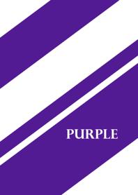 シンプル 紫と白 No.2-2