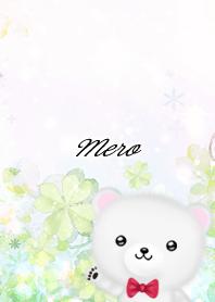 めろ☆シロクマ-春のクローバー-