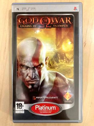 God of War - Chain of Olympus (platinum) / PSP