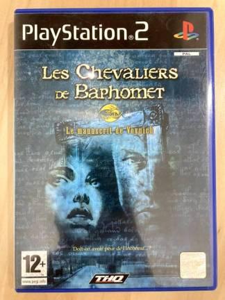 Les Chevaliers de Baphomet : Le Manuscrit de Voynich / PS2