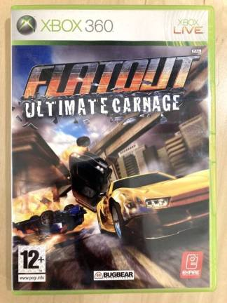 Flat Out Ultimate Carnage / XBOX 360