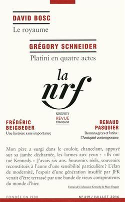 Nouvelle revue française, n° 619