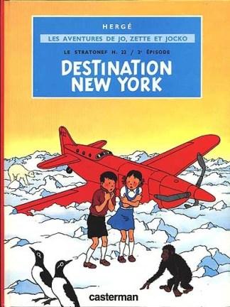 Le Stratonef H 22 Volume 2, Destination New York