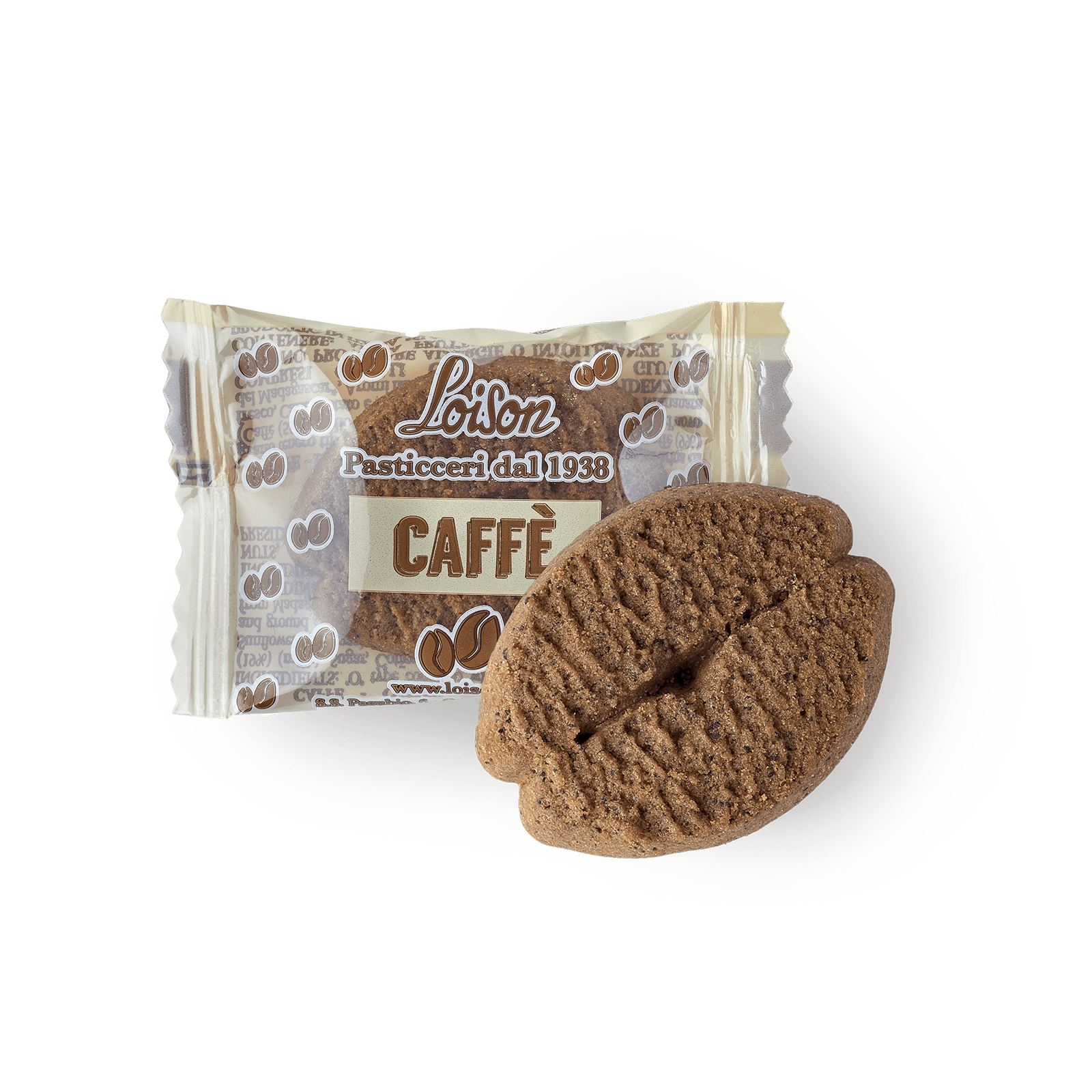 Coffee biscuits individually wrapped - Loison