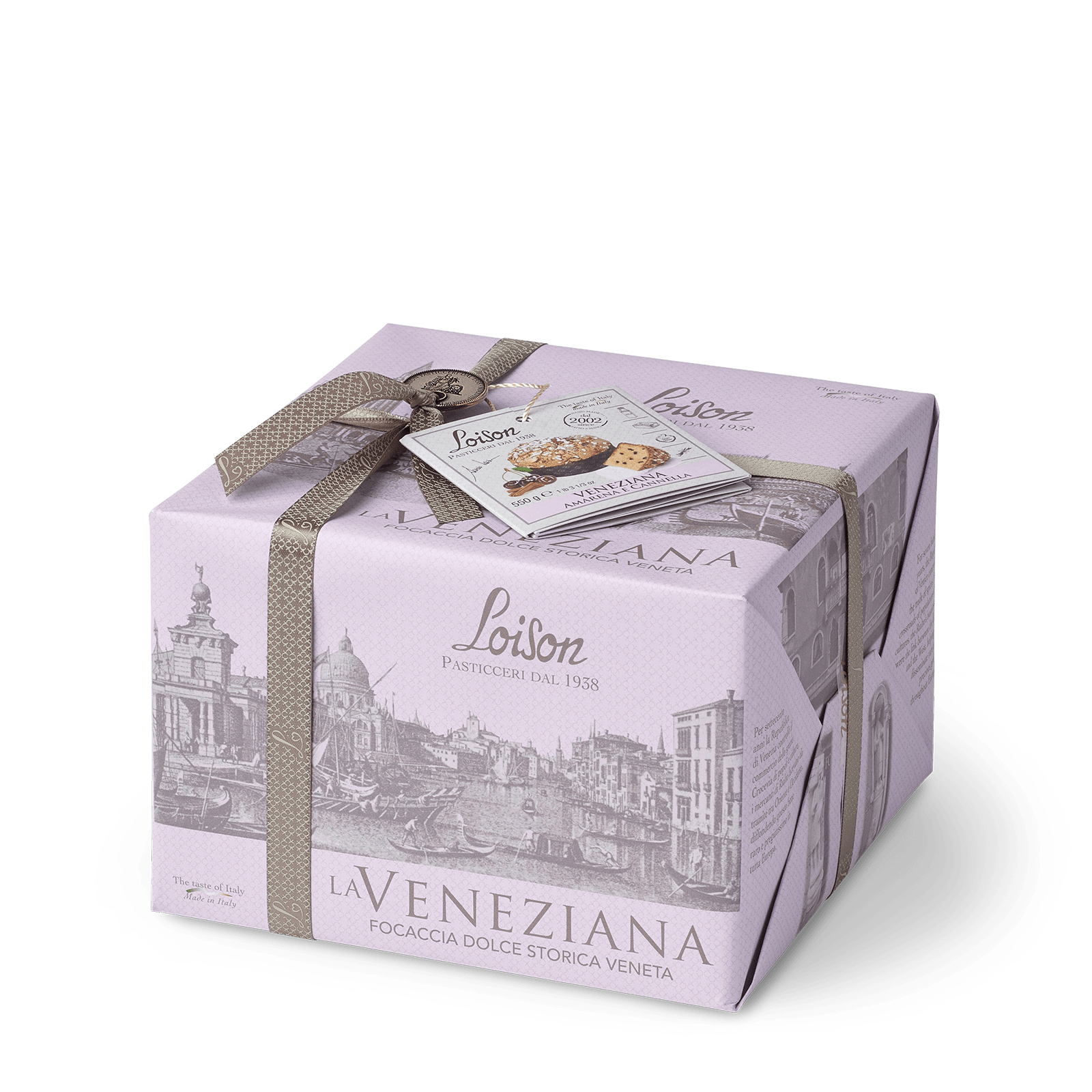 Cherries and cinnamon Veneziana Traditional Cake of Venice Loison