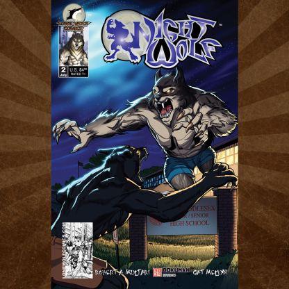 Night Wolf 2 Cover C