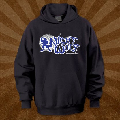 Night Wolf Logo Hoodie