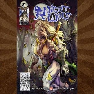 Night Wolf Issue 3 Carlos Herrera Cover