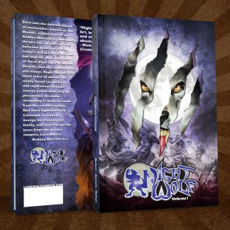Night Wolf Volume 1 Die Cut Hard Cover