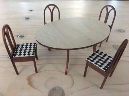 tafel set klassiek decoratie idee