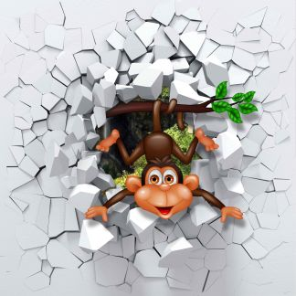 Маймунка - Фототапет