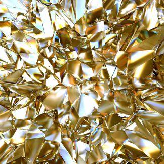 Дизайн на фототапета Златно отражение