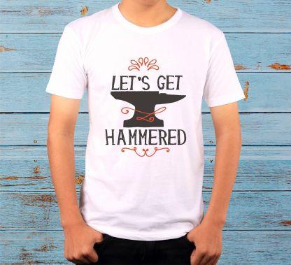 Let's get hammered – Мъжка тениска