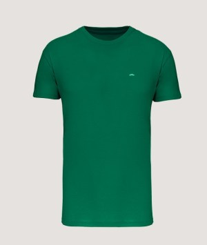 T-shirt BIO150 col rond homme - Kelly green
