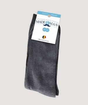 Chaussettes gris souris