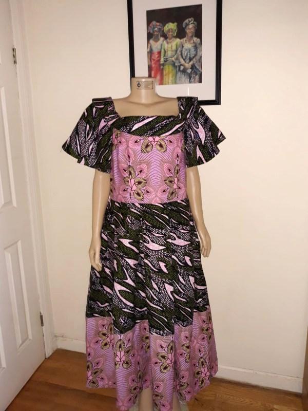 pinkblackdress