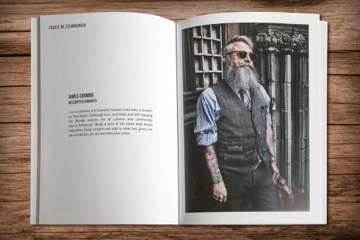 Faces of Edinburgh Shop 2 | Manel Quiros Photography