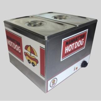 Découvrez notre Machine Hot Dog Bain Marie Micro Cart ! La machine incontournable pour démarrer votre activité Manhattan Hot Dog !