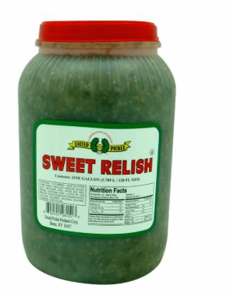 Découvrez le Pickels Relish directement importés des États-Unis ! Une préparation de cornichons émincés ! Légérement acidulés et aigre doux !