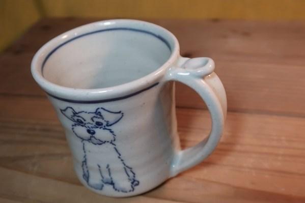 マグカップ 白シュナ