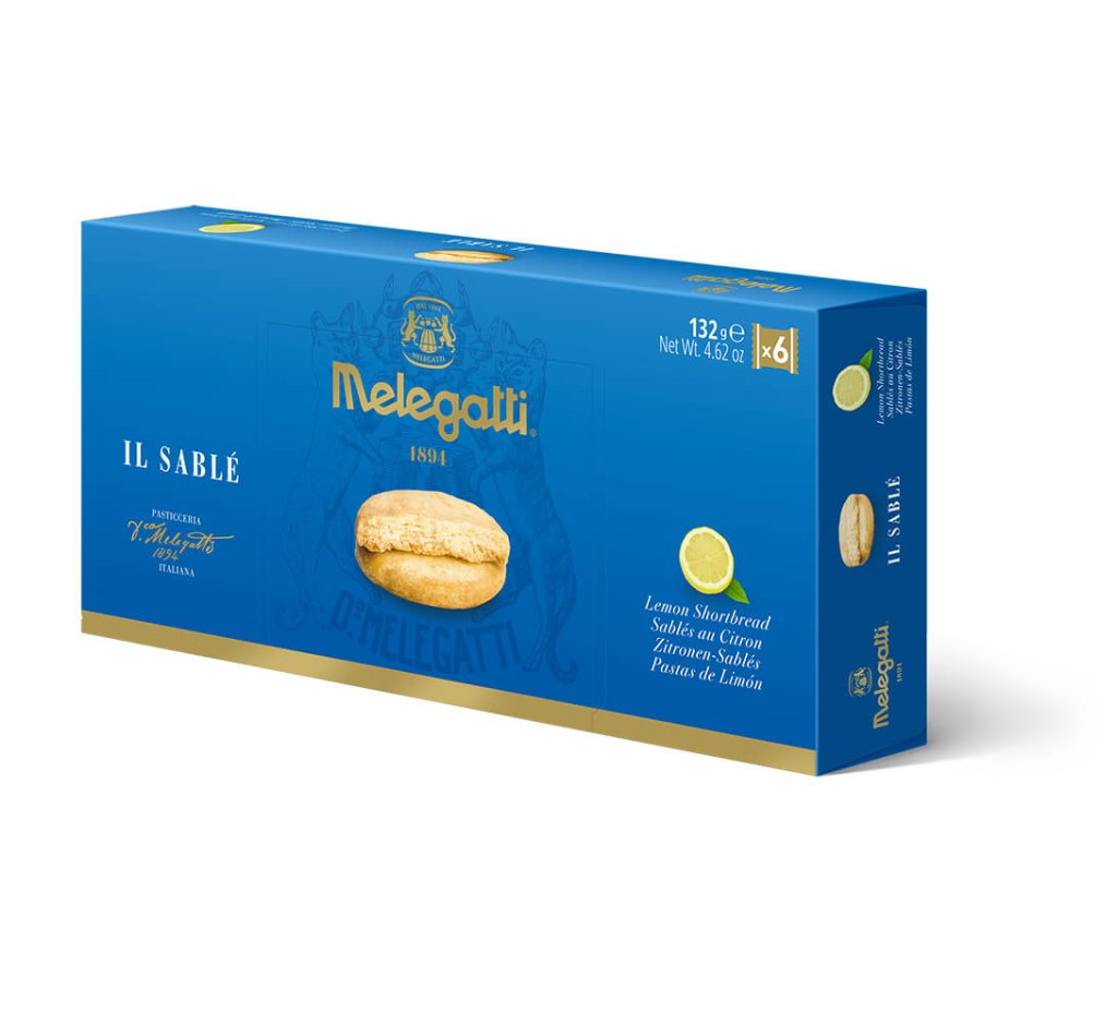 Biscotti Il Sablè Al Limone Melegatti PF-BIS011