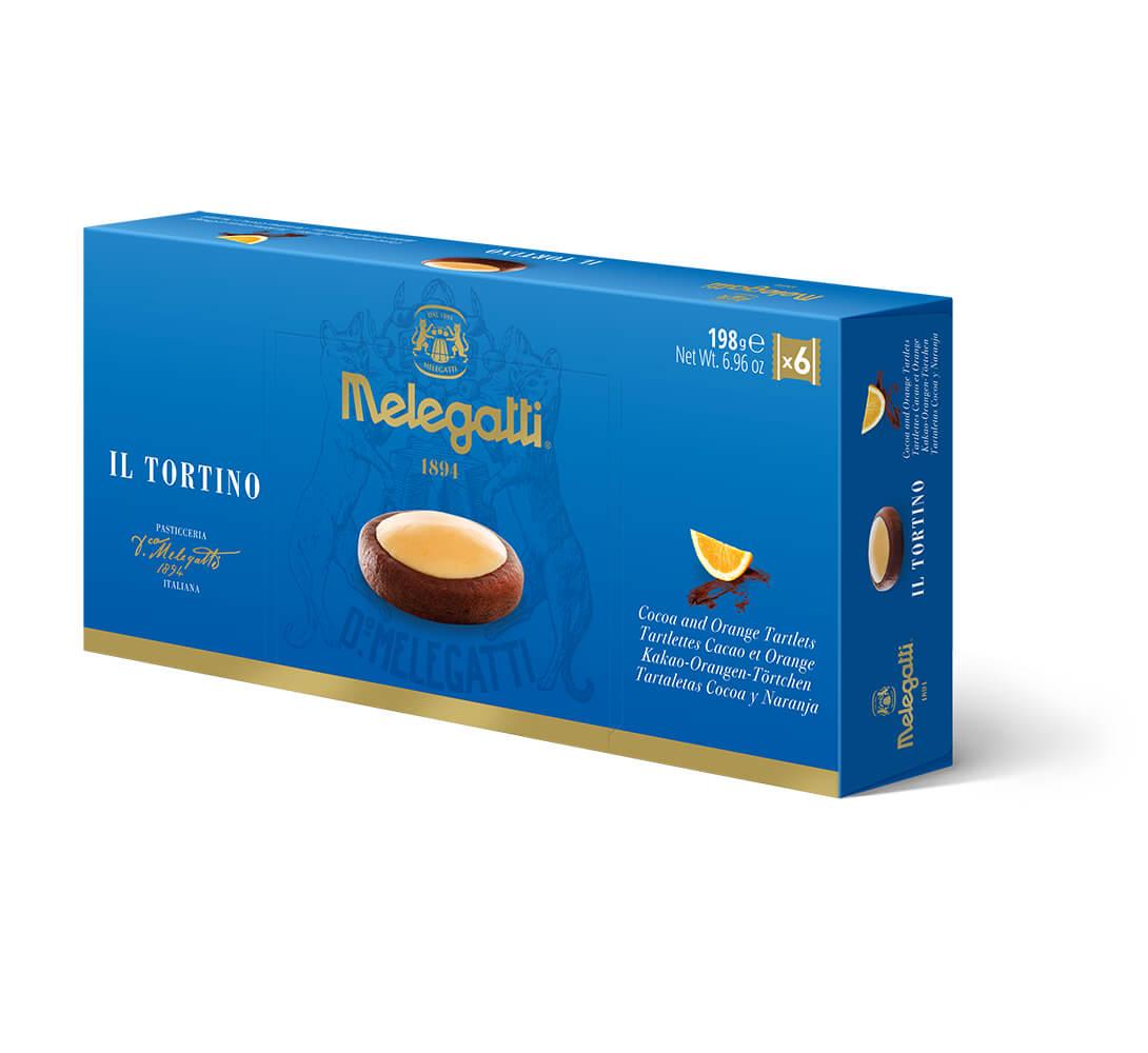 Biscotti Il Tortino Al Cacao E Arancia Melegatti PF-BIS022