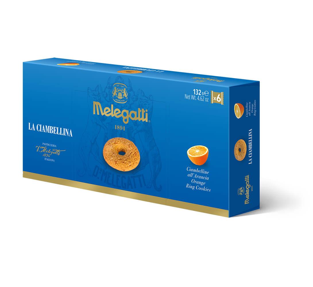 Biscotti La Ciambellina All'Arancia Melegatti PF-BIS013