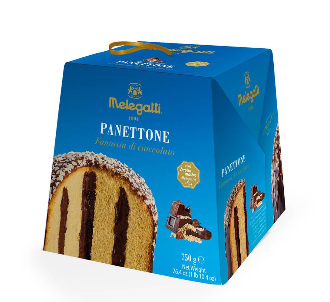 Panettone Melegatti Fantasia di Cioccolato PF-PNF014