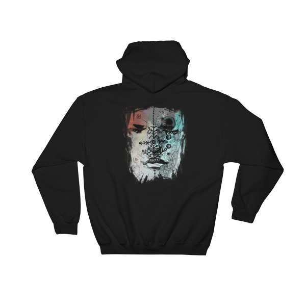 SPIRIT SYMBOLIC Hooded Sweatshirt