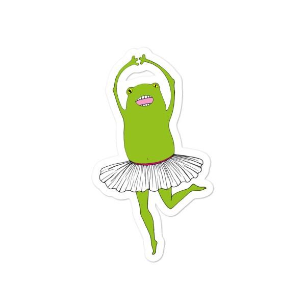 Dancer sticker. Vinila uzlīme Dejotāja.