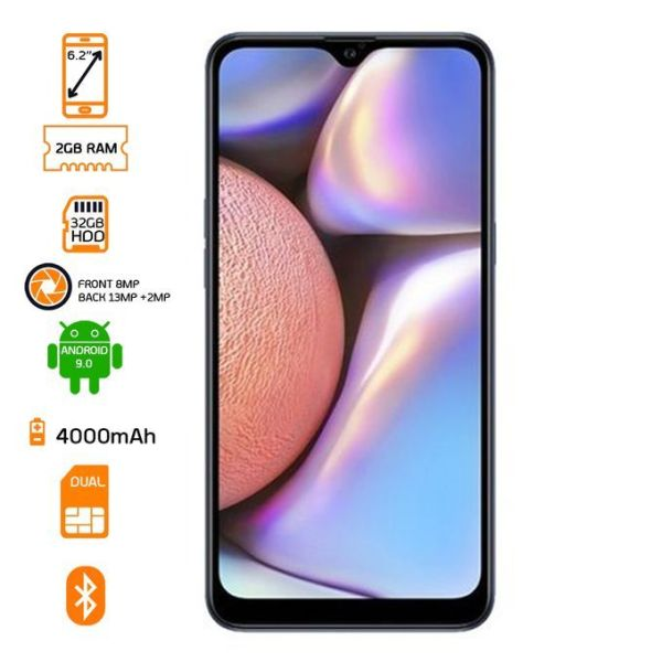 Samsung Galaxy A10s Dual SIM 32GB HDD - 2GB RAM