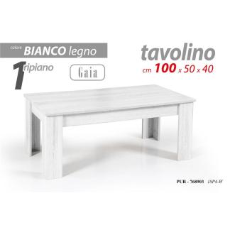 PUR/TAVOLINO GAIA 100*50*40CM 18P4-W