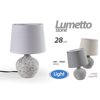 ORY/LUMETTO ASS STONE 28CM SY8231