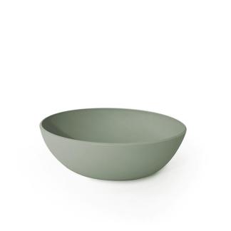 Ciotola 25x29x9,5 cm PANGEA (natura) verde salvia