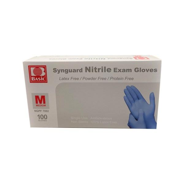 BASIC SYNMAX NITRILE EXAM BOX FRONT