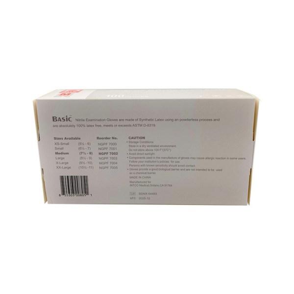 BASIC SYNMAX NITRILE EXAM BOX
