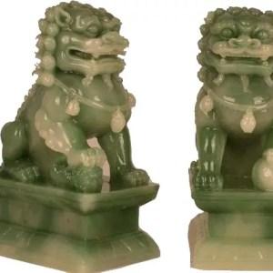 Jade Foo Dogs, large-0