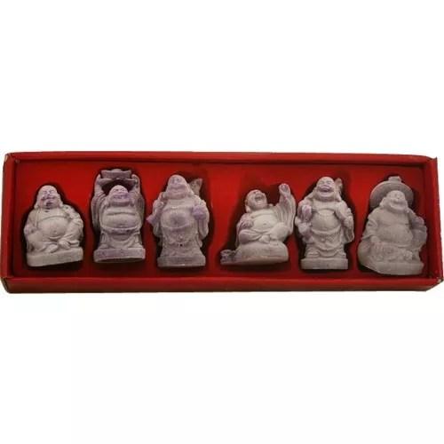 Buddha, set of 6, glow-in-the-dark-0