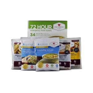 72 Hour emergency Food Supply-0