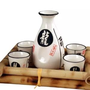 White Sake Set-0