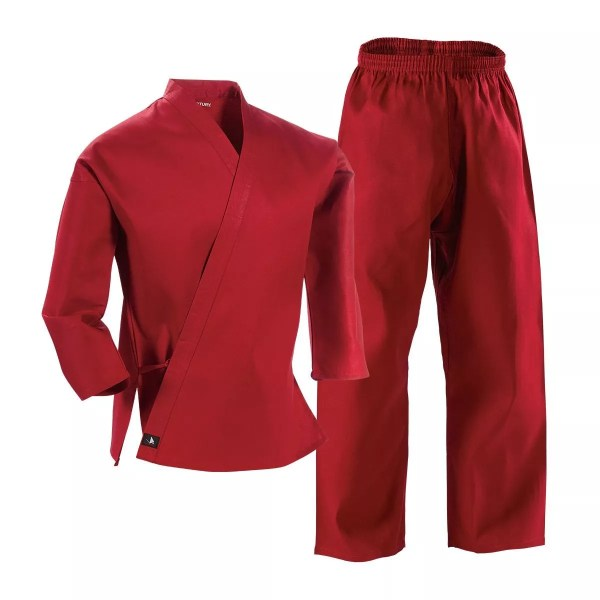 Traditional Gi uniform, red-0